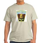 Helena Police Ash Grey T-Shirt