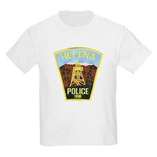 Helena Police Kids T-Shirt