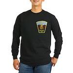 Helena Police Long Sleeve Dark T-Shirt