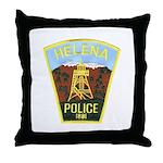 Helena Police Throw Pillow
