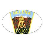 Helena Police Oval Sticker