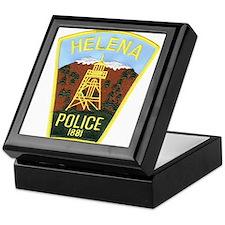 Helena Police Keepsake Box
