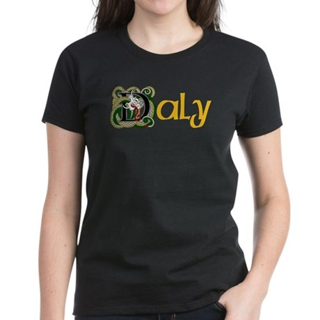 Daly Celtic Dragon Women's Dark T-Shirt