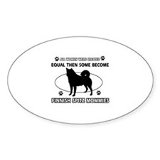 Finnish Spitz mommies are better Decal