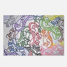 LAX skate boards by Bjork Postcards (Package of 8)