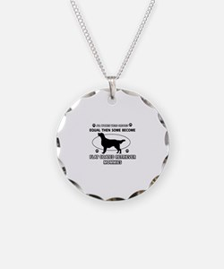 Flat-Coated Retriever mommies are better Necklace