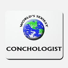 World's Sexiest Conchologist Mousepad