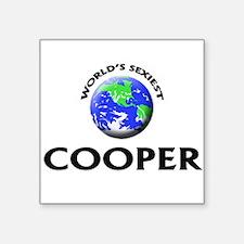 World's Sexiest Cooper Sticker