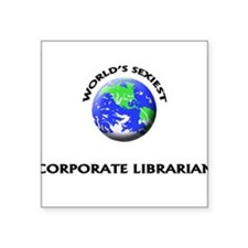 World's Sexiest Corporate Librarian Sticker