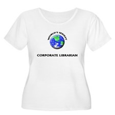 World's Sexiest Corporate Librarian Plus Size T-Sh