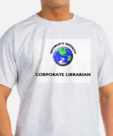 World's Sexiest Corporate Librarian T-Shirt