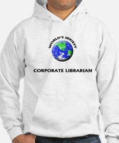 World's Sexiest Corporate Librarian Hoodie