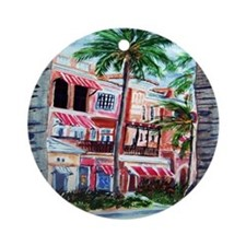 """On the Avenue"" Ornament (Round)"