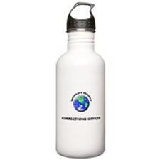 World's Sexiest Corrections Officer Water Bottle