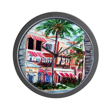 """""""On the Avenue"""" Wall Clock"""
