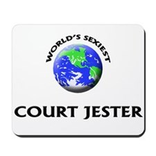 World's Sexiest Court Jester Mousepad