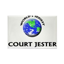 World's Sexiest Court Jester Rectangle Magnet