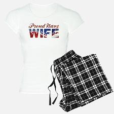 PROUD NAVY WIFE Pajamas