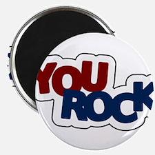"You Rock 2.25"" Magnet (100 pack)"