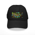 Peacock Feathers Invasion Black Cap