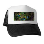 Peacock Feathers Invasion Trucker Hat