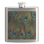 Peacock Feathers Invasion Flask
