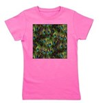 Peacock Feathers Invasion Girl's Tee