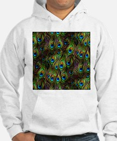 Peacock Feathers Invasion Hoodie