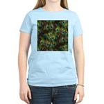Peacock Feathers Invasion Women's Light T-Shirt