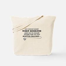 Scottie Chausie designs Tote Bag
