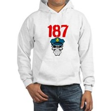 187 cops & the constitution Hoodie