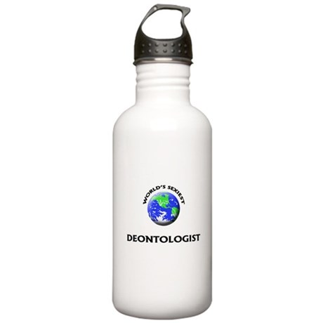 World's Sexiest Deontologist Water Bottle