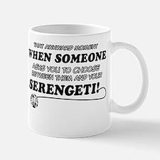Serengeti designs Mug