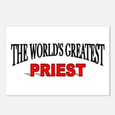 """The World's Greatest Priest"" Postcards (Package o"