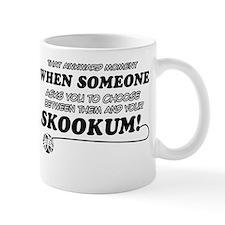 Skookum designs Mug
