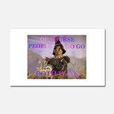 Some People do go Both Ways Car Magnet 20 x 12