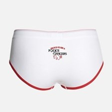 Police Officers Wife Women's Boy Brief