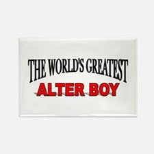 """The World's Greatest Alter Boy"" Rectangle Magnet"