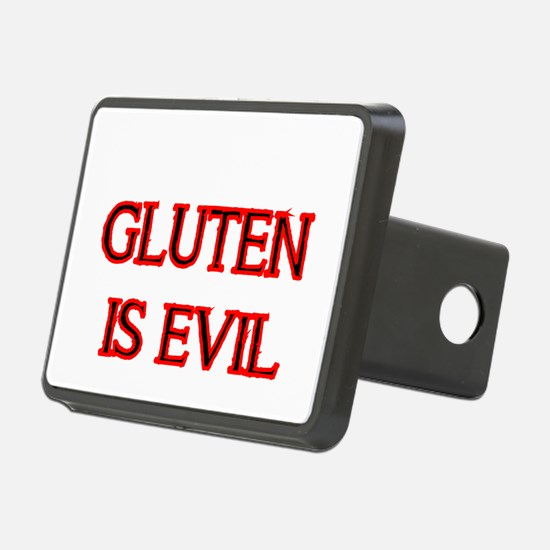 GLUTEN IS EVIL 2 Hitch Cover