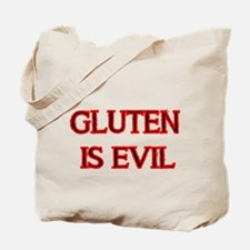 GLUTEN IS EVIL 2 Tote Bag