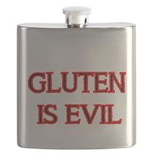 GLUTEN IS EVIL 2 Flask