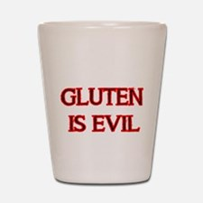 GLUTEN IS EVIL 2 Shot Glass