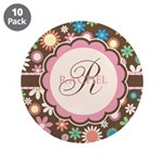 Personalized Name Flower Pattern 3.5