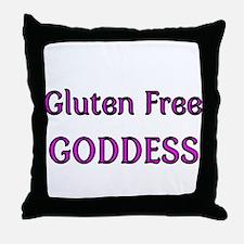 GLUTEN FREE GODDESS 4 Throw Pillow