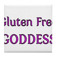 GLUTEN FREE GODDESS 4 Tile Coaster