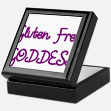 GLUTEN FREE GODDESS Keepsake Box