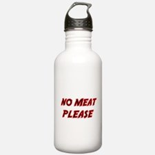 NO MEAT PLEASE 2 Water Bottle