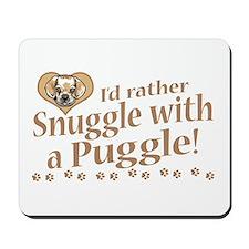 Snuggle Puggle Mousepad