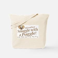 Snuggle Puggle Tote Bag