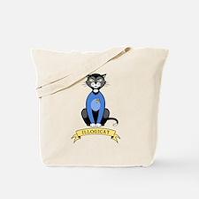 Illogicat Tote Bag